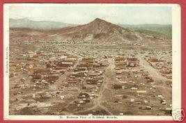 Goldfield Nevada Birdseye Town Mountain 1908 B Js - $15.00