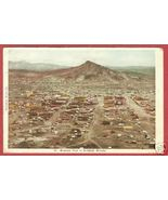 GOLDFIELD NEVADA Birdseye Town Mountain 1908 BJs - $15.00