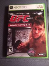UFC Undisputed 2009  Xbox 360 Complete With Manual Ships Fast! - $5.99