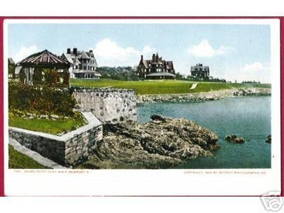 NEWPORT RHODE ISLAND Ochre Point Cliff Walk UDB