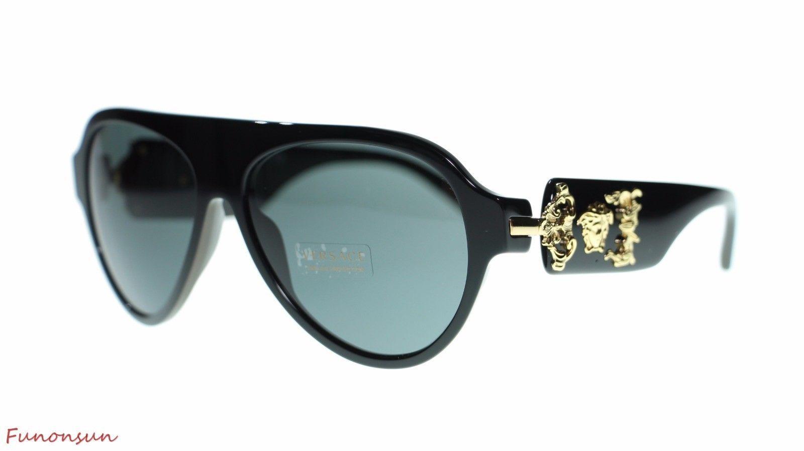 07b4a431950 Versace Men s Pilot Sunglasses VE4323 GB1 87 and 23 similar items. S l1600