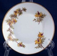 "Ch. Field Haviland CFH/GDM 4.5"" Pin Dish Hand Painted Yellow Flowers Lim... - $5.00"