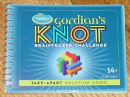 GORDIANS KNOT BRAINTEASER CHALLENGE PUZZLE GAME 2005 THINKFUN COMPLETE E... - $7.50