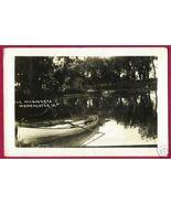 MANCHESTER IOWA Maquoketa Boats RPPC 1914 IA PC - $14.99