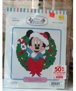 Disney Babies Mickey Wreath Cross Stitch Kit - $14.00