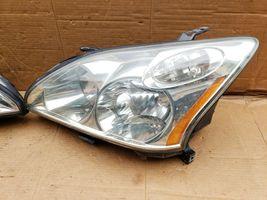 04-09 Lexus RX330 RX350 Halogen Headlight Lamps Set L&R POLISHED image 4