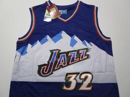 KARL MALONE / NBA HALL OF FAME / AUTOGRAPHED UTAH JAZZ THROWBACK JERSEY / COA image 2