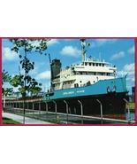 FREIGHTER GOLDEN HIND Great Lakes Ship Soo Mich... - $4.50