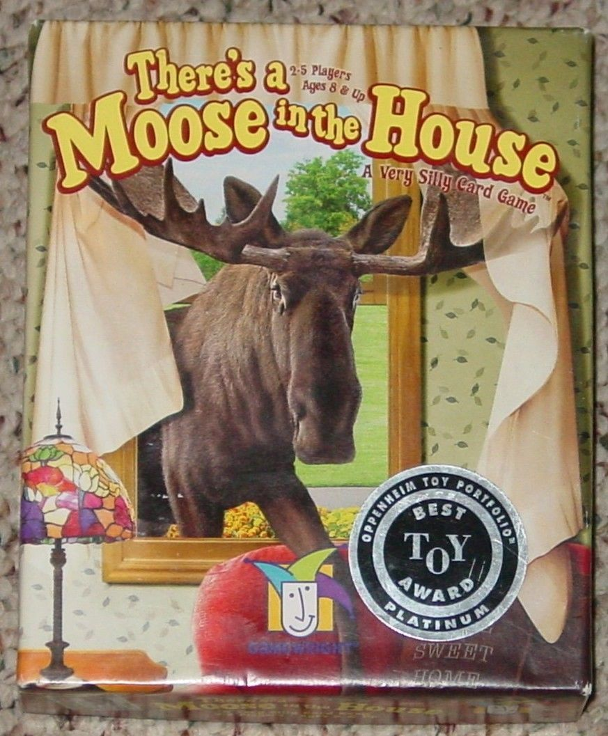 Primary image for THERES A MOOSE IN THE HOUSE CARD GAME 2005 GAMEWRIGHT COMPLETE EXCELLENT