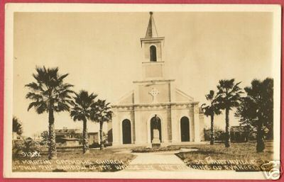 ST MARTINVILLE LOUISIANA Catholic Church LA AZO RPPC