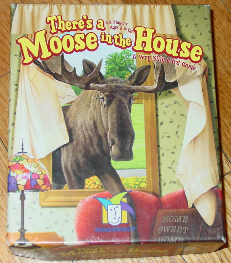 Primary image for THERES A MOOSE IN THE HOUSE CARD GAME 2004 GAMEWRIGHT COMPLETE EXCELLENT