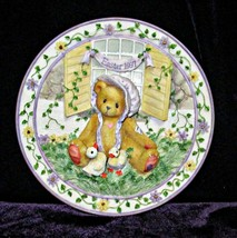 Cherished Teddies Easter Sculptured Plate 1997 - $8.95