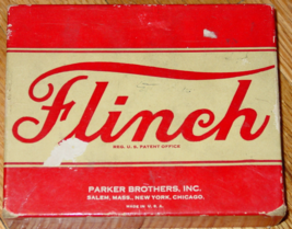 FLINCH CARD GAME PARKER BROTHERS VINTAGE MADE IN USA COMPLETE EXCELLENT - $40.00
