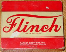 FLINCH CARD GAME PARKER BROTHERS VINTAGE MADE IN USA COMPLETE EXCELLENT - $25.00