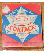 CONTACK FASCINATING GAME 1939 PARKER BROTHERS COMPLETE - $15.00