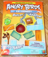 ANGRY BIRDS ON THIN ICE GAME BASED ON THE APP 2011 MATTEL COMPLETE EXCEL... - $10.00