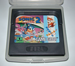 SEGA GAME GEAR - SONIC THE HEDGEHOG 2 - SONIC TAILS (Game Only) - $5.50