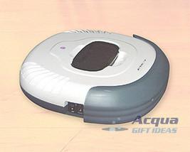Robotic Vacuum Cleans Wood Tile Carpeted Floor Recharge image 1