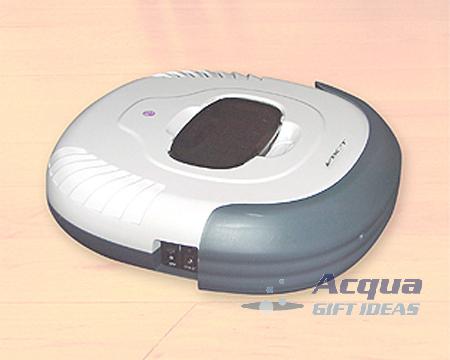 Robotic Vacuum Cleans Wood Tile Carpeted Floor Recharge image 2