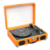 3 Speed USB Turntable Record LP Player w/ Built-in Speakers  RCA Line-ou... - $164.04 CAD