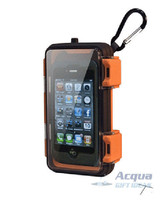 Waterproof Clear Case for MP3 Player, iPod, iPhone w/ Waterproof Earbuds NIB image 1