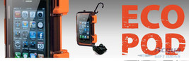 Waterproof Clear Case for MP3 Player, iPod, iPhone w/ Waterproof Earbuds NIB image 2