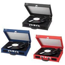 Belt Driven Turntable Record LP Player w/ Built-in Speakers AUX Input RC... - $151.38 CAD