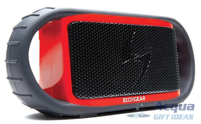 Wireless Bluetooth Waterproof Speaker for/iPad iPhone Android device Red Color