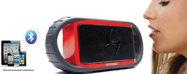Wireless Bluetooth Waterproof Speaker for/iPad iPhone Android device Red Color image 3
