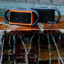 Wireless Bluetooth Waterproof Speaker for/iPad iPhone Android device Red Color image 5
