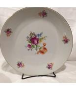 "Kahla German Democratic Republic Floral 11"" Dinner Plate - $13.72"