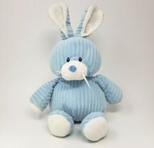 GANZ Velours Cuties Bleu & Blanc Bunny Rabbit Hochet Animal en Peluche Jouet - $42.04
