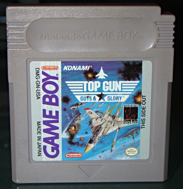 Nintendo GAME BOY - TOP GUN GUTS & GLORY (Game Only) - $12.00