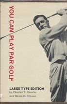 You can play par golf [Import] [Hardcover] by Bassler, Charles & Gibson,... - $4.90