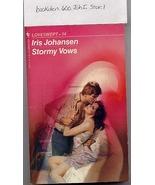 Stormy Vows Loveswept 14 by Iris Johansen - $3.99