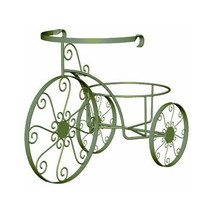 Panacea Products Whimsical Tricycle Plant Stand, Antique Willow Finish - $46.94