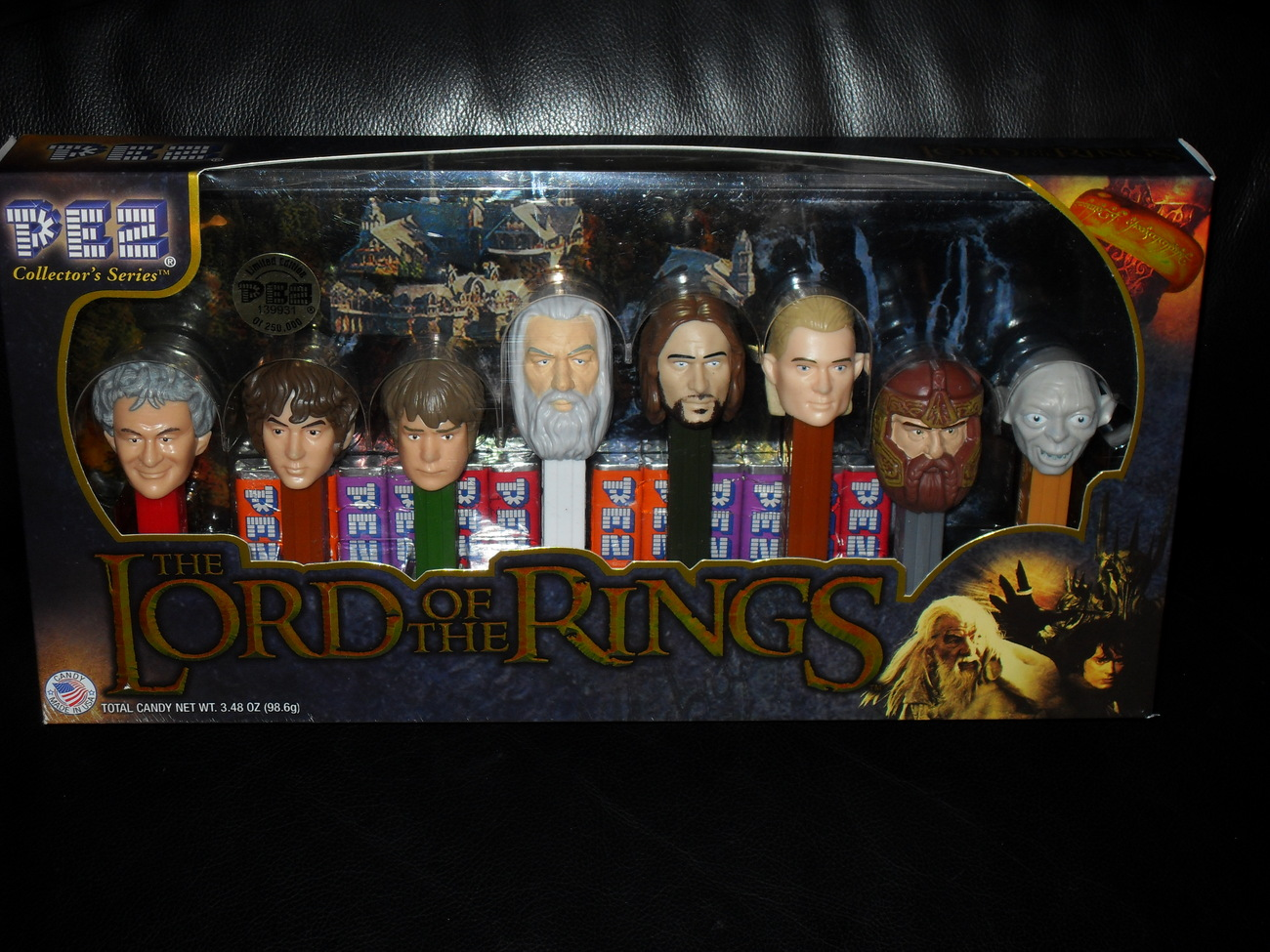 Lord Of The Rings Pez Collector Set New In The Box