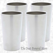 4pc Double Wall 13oz Stainless Steel Cold Tumbl... - $36.99