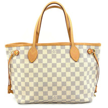 LOUIS VUITTON Neverfull PM N51110 Damier Azul Tote bag Used Excellent Fr... - $1,565.96