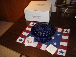 Longaberger Pottery Proudly American Eagle 1 1/... - $46.99