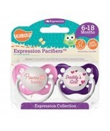 Princess in Training & Daddy's Girl Pacifiers 6-18M, Girls, Ulubulu - $8.99