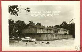 Federal Dam Mn Coborn's Harbor Resort Car Dogs Rppc BJs4 - $14.99