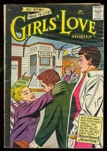 Girls Love Stories #45 1957-DC ROMANCE-HEARTBREAK Junct G - $25.22