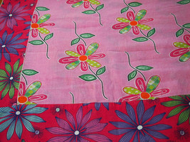 Floral Chita Tablecloth in Pink - $30.00