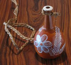 Ceramic small vase (moringa) by Brazilian Naif ... - $19.99