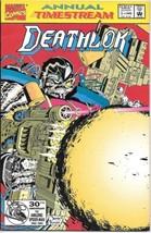 Deathlok Comic Book Annual #1 Marvel Comics 1992 VERY FINE/NEAR MINT NEW... - $3.50