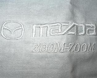 t1 New MAZDA ZOOM ZOOM Logo Mens Dress Shirt Neck 16 inches