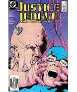 JUSTICE LEAGUE #17 (1988) NM! - $1.00
