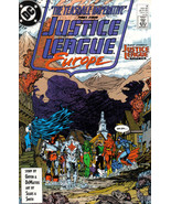 JUSTICE LEAGUE EUROPE #8 (1989) NM! - $1.00