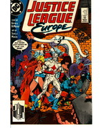 JUSTICE LEAGUE EUROPE #3 (1989) NM! - $1.00
